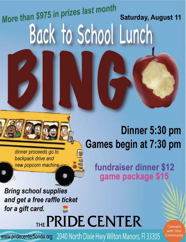 Back2school bingo